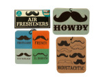 Chocolate Scented Mustache Air Freshener