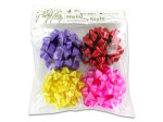 4pc bows asst colors 4c