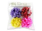 4pc bows asst colors 4c