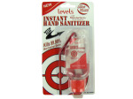 Hand sanitizer with clip, 2 ounces