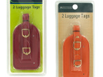 Vinyl Luggage Tags Set