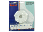 2 pack of seven day pill boxes