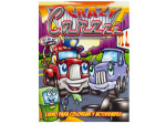 Crazy Cars Coloring & Activity Book