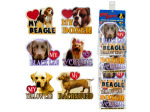 dog magnets assorted