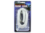 Coiled telephone cord (assorted colors)