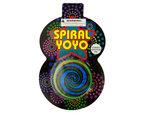 Spiral Holographic Yo-Yo