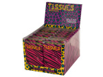 Zebra Print Tissues Countertop Display