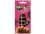 Tiger Stripes Nail Art Gel Nail Wraps Set