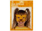 3D Zoo Animal Face Masks