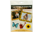 Refrigerator photo accessory kit