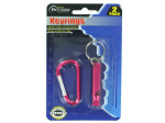 Whistle key chain and snap-clip