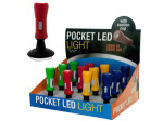 Pocket LED Light with Suction Grip Counter Top Display