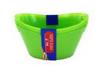 Miniature plastic tubs