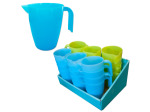 Plastic pitcher display