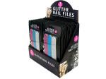 Glitter Nail File Set Counter Top Display
