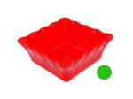 Decorative Square Plastic Bowl