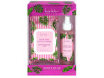 Nicole Miller Rose and Cactus Water 30 ct Face Wipes and 4 Oz Facial Mist Spray Gift Set