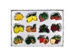 Decorative Fruit Magnets Set