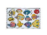 Decorative Fish Magnets Set