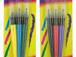 Paint Brush Colored Marker Set