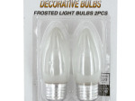 Frosted Decorative Light Bulbs Set