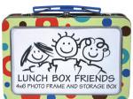 Dots & Stripes Photo Frame & Storage Box