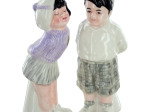 Darla & Spanky Salt & Pepper Shakers Set