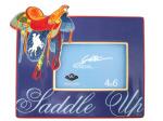 Saddle Up Ceramic Photo Frame