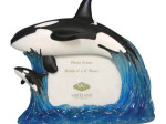 Mother Whale & Calf Photo Frame