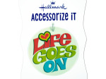 'Life Goes On' Gift Trim Tag