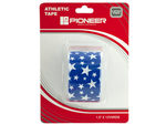 Pioneer Blue & White Stars Athletic Tape