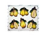 Decorative Pear Magnets Set