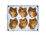 Decorative Tiger Magnets Set