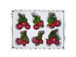 Decorative Cherry Magnets Set