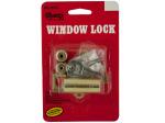 Brass Window Lock with Keys
