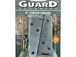 Small Zinc-Plated Strap Hinge Set