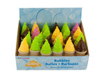 Ice Cream Bubbles Party Favors Countertop Display
