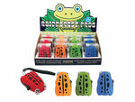 Rainforest Frog Crank Flashlight Countertop Display