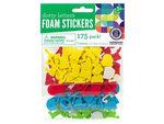 Dotty Letters Foam Stickers