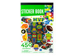 Sticker Book with Assorted Designs