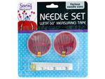 Sewing Needle Set with Measuring Tape