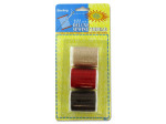 3 Pack deluxe sewing thread (assorted colors)