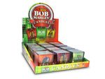 Bob Marley Square Glass Votive Candle Countertop Display