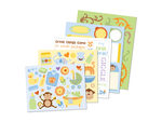 96 Piece Kids Sticker Kit