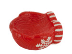 Ceramic Holiday Mitten Candy Dish