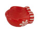 Ceramic Holiday Mitten Candy Dish