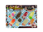 8pc fruit bar memo magnet