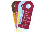 Party tips bottle tags, pack of 4