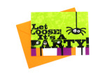 Let Loose Spider Invitations & Envelopes