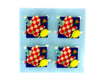 Grilling card accents, 3D